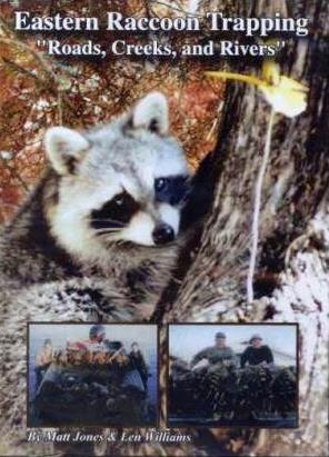 Eastern Raccoon Trapping – Roads, Creeks & Rivers  DVD #92382